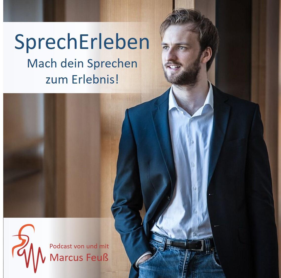 Podcast-Cover SprechErleben - Mach dein Sprechen zum Erlebnis!